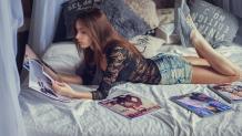Как получить пользу от чтения модных журналов?