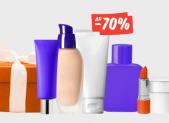 -70% на товары для гигиены и красоты!